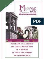 Programa Martes Mayor 2013