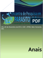 Anais III Encontro de Pesquisa em Parasitologia - 20 a 22 de novembro 2012 - Cópia_3.pdf