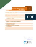 Sesión 01 - Diseño e implementación de un blog