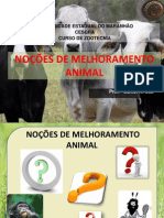 Aula 1.1 Nocoes de Melhoramento Animal