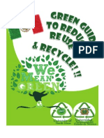 2013 UNT-International Summer Institute Green Guide
