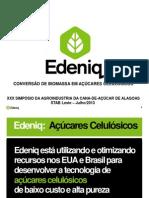 Conversão de biomassa em açucares celulósicos - Renata Kleinhappel