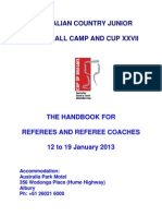 Referee ACJBC Program