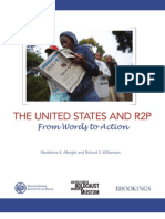 The United States and R2P