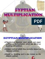 Mt1 Egyptian Multiplication
