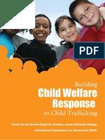 Building Child Welfare Response to Child Trafficking