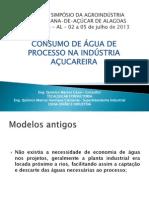 Consumo de Água de Processo na Industria Açucareira - Marcos Henrique e Marcos Clemente
