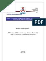 Manual de Bioseguridad Influenza