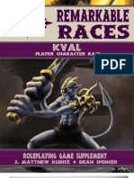 Remarkable Races - The Kval