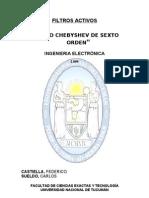TP_Filtro Chebyschev de 6º orden