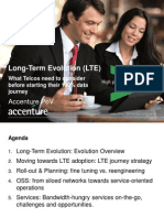 Long Term Evolution Deployment - What Telcos Need to Consider Before Starting Their 100% Data Journey