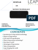 Leap Motion Technology Pdf