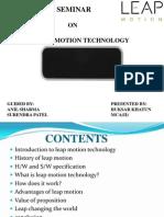 Leap Motion Technology Pdf