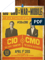 Mobile Wars - CMO vs CIO Kinvey