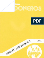 1981 - Glosario Arqueologico - José Echeverria