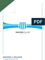 Racing Club Balance2011