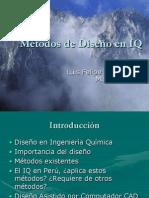 Métodos de Diseño en IQ