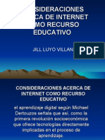 Internet Como Recurso Educativo