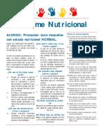 Informe Nutricional Normal