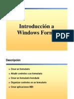 6.- Windows Forms