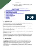 Manual Limpieza Desinfeccion y Esterilizacion Materiales Laboratorio Clinico
