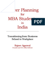 Career Planning for MBA Students Draft July 2 2013