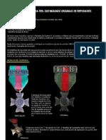Medalhas FEB