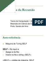 Teo Recursao