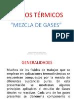 4 Ciclos Termicos Mezcla de Gases