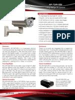 Long Range IR Camera, True Day/Night, – Ascendent Technology Group - AP-72IR-550