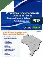 programas governamentais - caixa