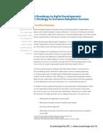 A Roadmap to Agile Develop Men