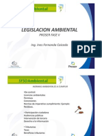 1. Legislación ambiental