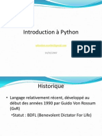Introduction Python