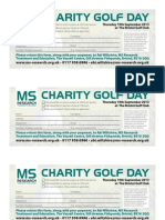 Golf RSVP for MS Research