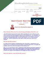 Basel III _ BASEL 3 _ BASEL iii Accord _ Comparison with Basel II