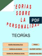 Teorias Sobre La Personalidad