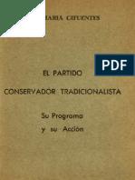 El Partido Conservador Tradicionalista