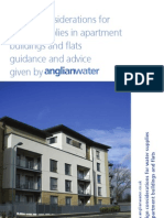 Design Considerations for Water Supplies in Apartment Buildings and Flats