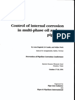 Control of Corrosion in Multi-Phase Pipelines