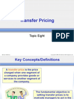 Chap 8 Transfer Pricing