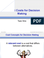 Chap9(Relevant Costing)