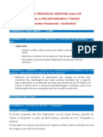 Material 2 Encontro Presencial CHT-2012