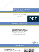 Facebook and Twitter Ad Strategies - A Survival Guide