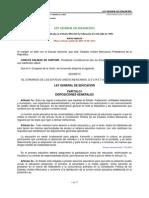 Ley General de Eduación 2013