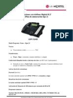 Manual Del Usuario Tel LG- Nortel Digital