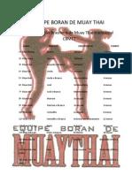 Equipe Boran de Muay Thai