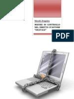 Misure di controllo nel diritto d'autore digitale - Zingales (2006)