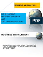 Business Environment -An Analysis