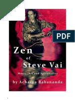 Zen of Steve Vai by Acharya Babananda